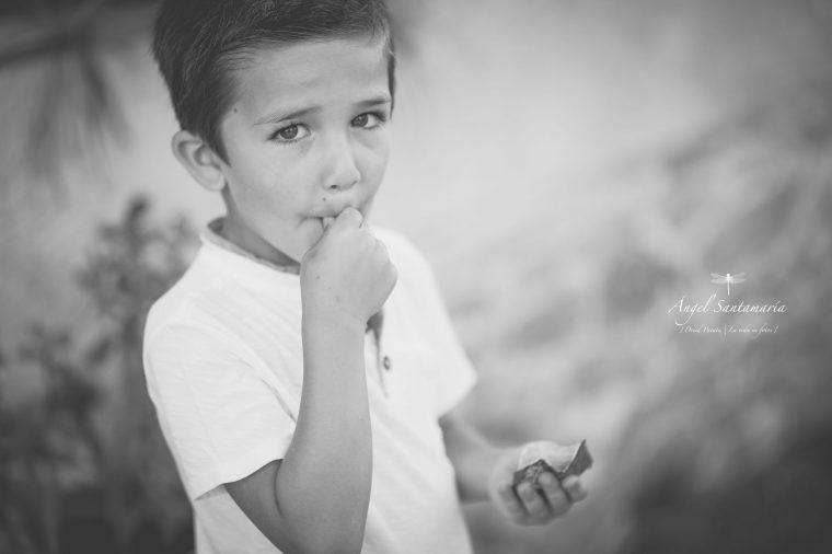 Sesión de familia en la playa | Ángel Santamaría - Fotógrafo de bodas, de familias, infantil, books personales. Fotógrafo en Madrid y toda España