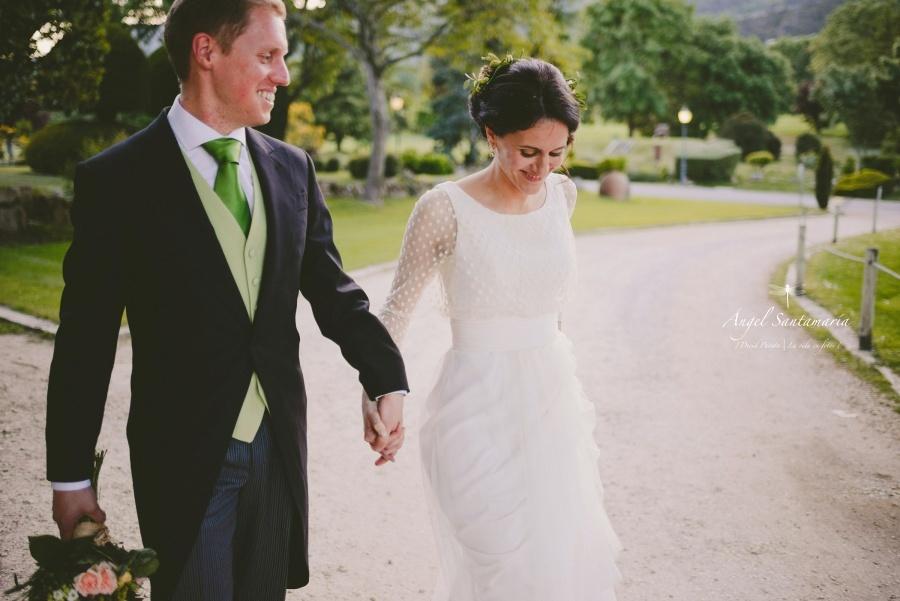 Boda de Tania & Daniel en el Club de Golf la Herrería de El Escorial | Fotógrafo de bodas en Madrid y Segovia